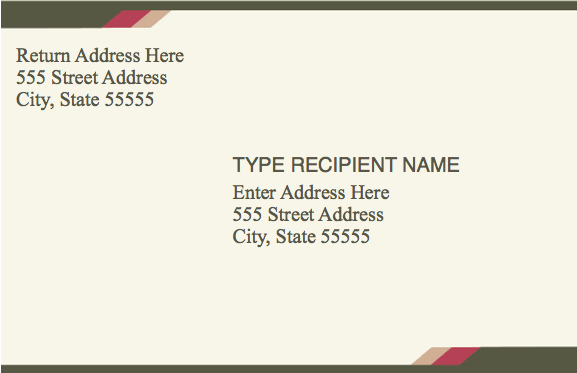 address label templates free