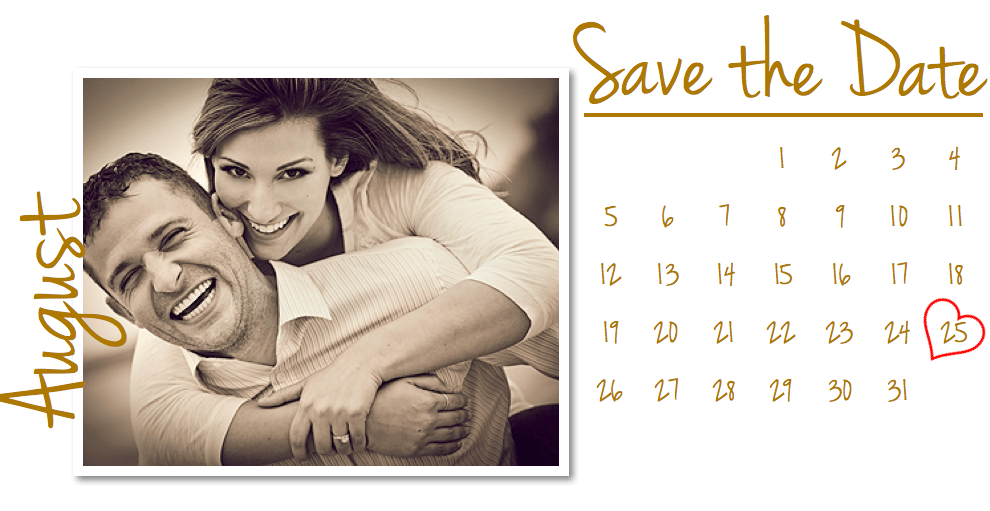 Free Save the Date Templates & DIY Save the Date Tutorial