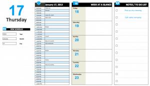 Perpetual Daily Calendar
