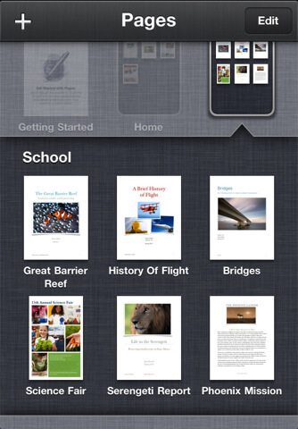 iWork for iPhone