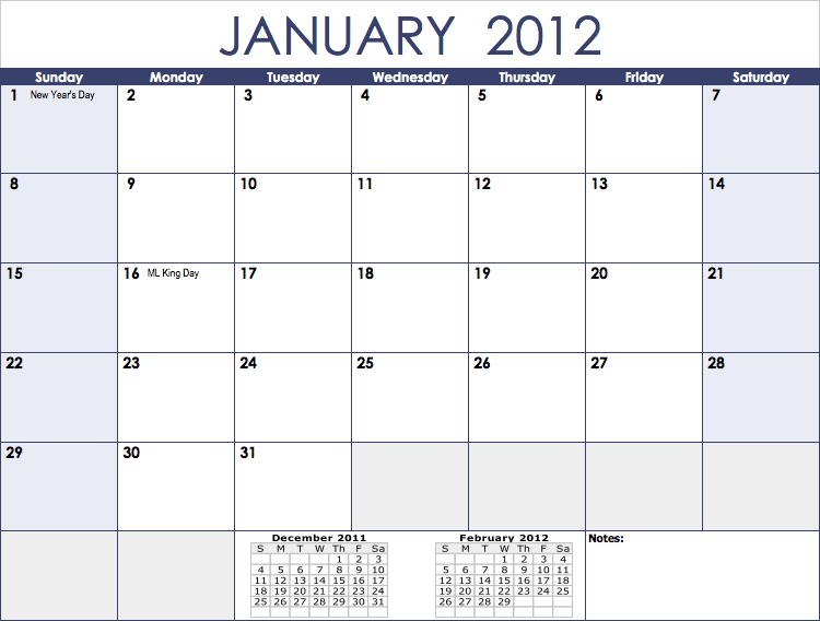Update: Download the 2013 Monthly Calendar template for Numbers