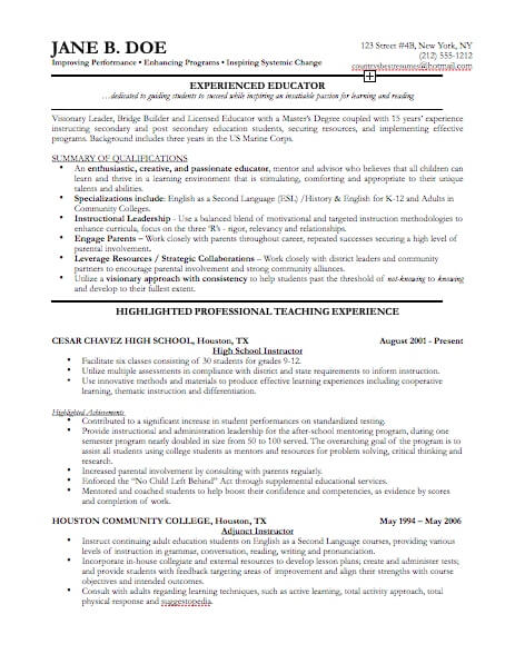 professional resume template for pages free iwork templates