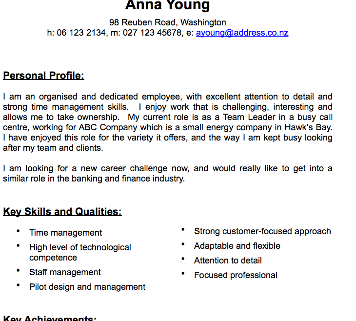 Pages Traditional CV Template (Resume)