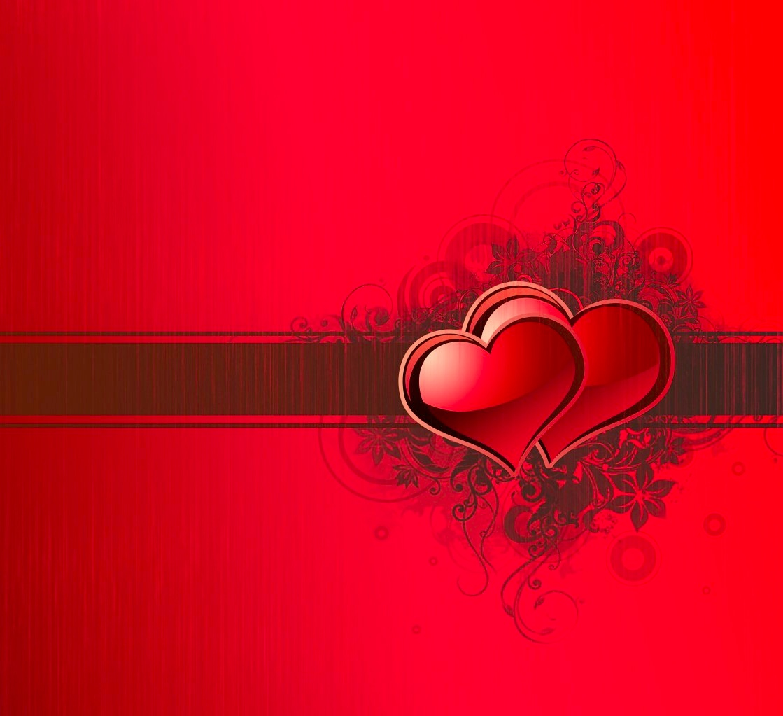 Two Hearts Valentines Day Presentation Template for Keynote