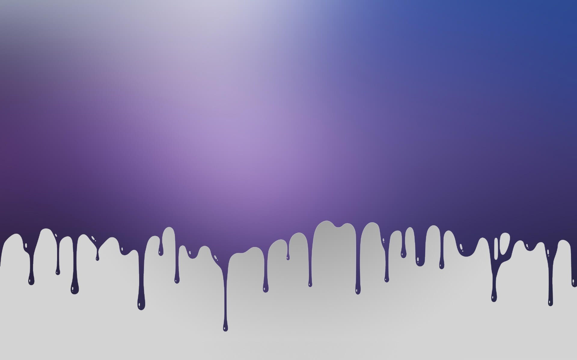 paint drip keynote theme
