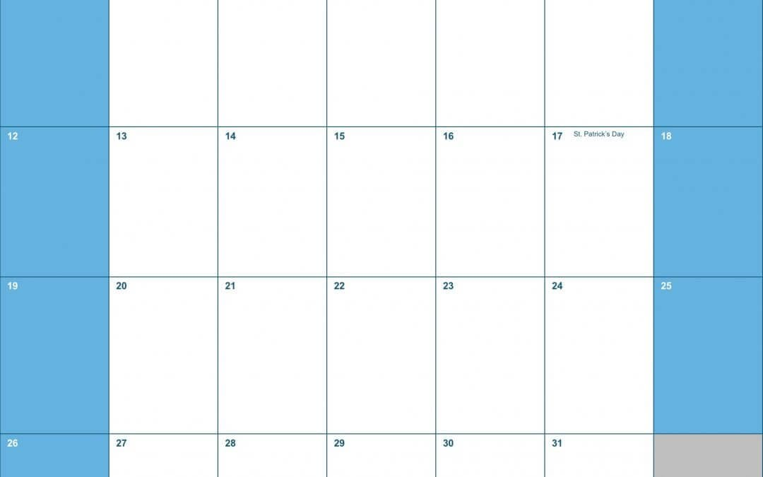 Calendar Templates Vertical : Calendars numbers templates free iwork